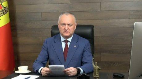 Реакция Игоря Додона на обвинения Майи Санду: Майя Григорьевна, успокойтесь, дышите ровно (ВИДЕО)