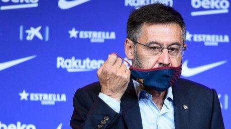 """Задержанного в понедельник экс-президента """"Барселоны"""" освободили"""