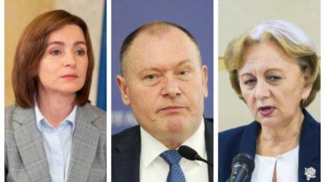 Руководство Молдовы поздравило прекрасную половину человечества с Международным женским днем