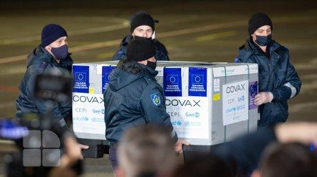 Молдова получила первую партию вакцин от коронавируса через платформу COVAX