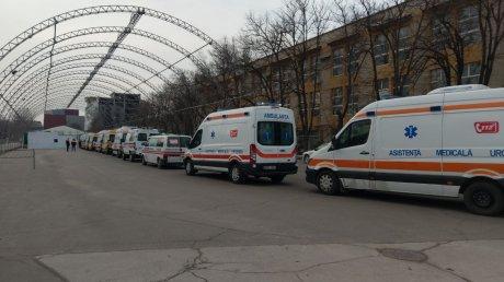 Молдавские больницы на грани: свободных мест для пациентов с COVID-19 нет или почти нет