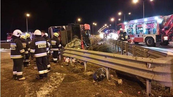 В Польше опрокинулся автобус с украинцами: шесть человек погибли