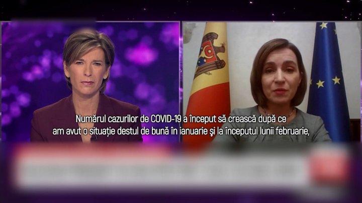 Первые лица о ситуации в Молдове: Санду говорит о новом штамме, а Чокой - о том, что стране нужно как можно больше вакцин