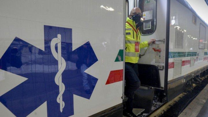 В Италии пустили санитарный поезд
