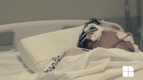 """Шокирующие кадры из отделения реанимации: """"Это — жестокое напоминание того, что расслабляться нельзя"""" (ВИДЕО)"""