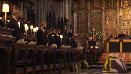 Принца Филипа похоронили в часовне Святого Георгия в Виндзоре
