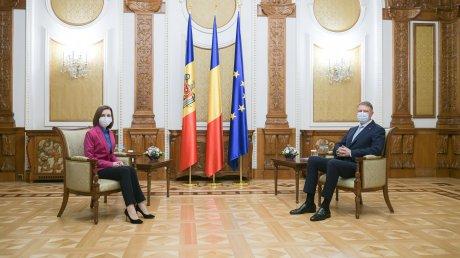 По дороге из Страсбурга в Кишинев президент Майя Санду побывала в Бухаресте