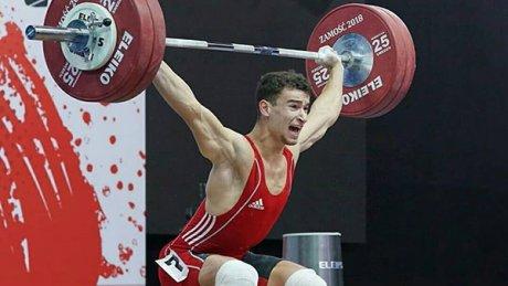 Тяжелоатлет Марин Робу завоевал серебро на чемпионате Европы в Москве