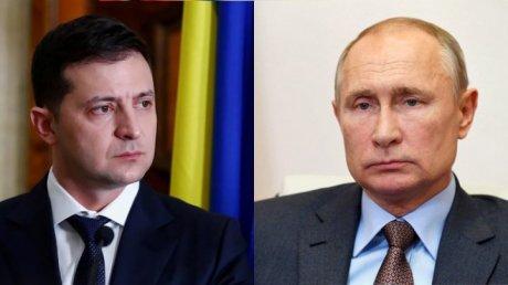 Путин не принял предложение Зеленского встретиться в Донбассе