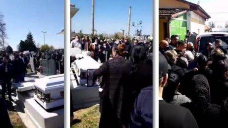 В Румынии семью оштрафовали за пышные похороны: полицию привела трансляция в соцсетях (ВИДЕО)