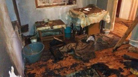 Забыл потушить огонь в печи: один человек погиб в результате пожара в Ниспоренском районе