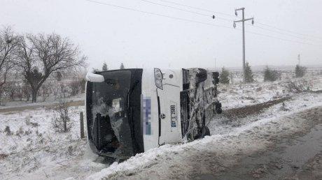 Автобус с российскими туристами попал в аварию в турецкой Анталье (ФОТО, ВИДЕО)