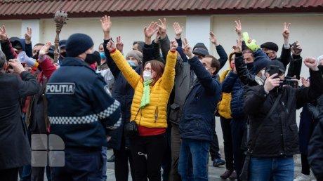 Сторонники Майи Санду обрадовались, узнав вердикт Конституционного суда
