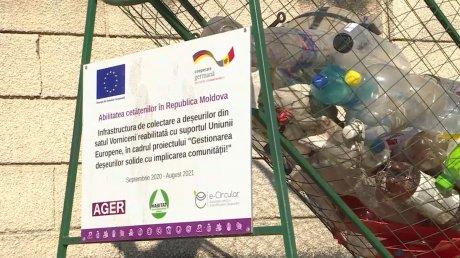 Стало чище: в шести селах Страшенского района наладили раздельный сбор мусора