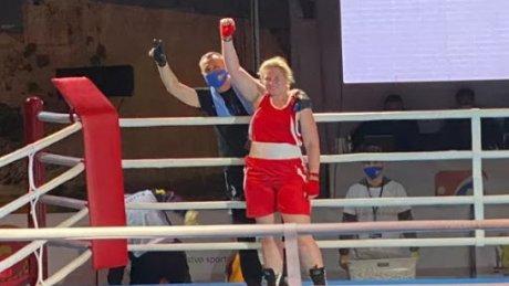 Дарья Козорез стала вице-чемпионкой мира по боксу среди молодежи
