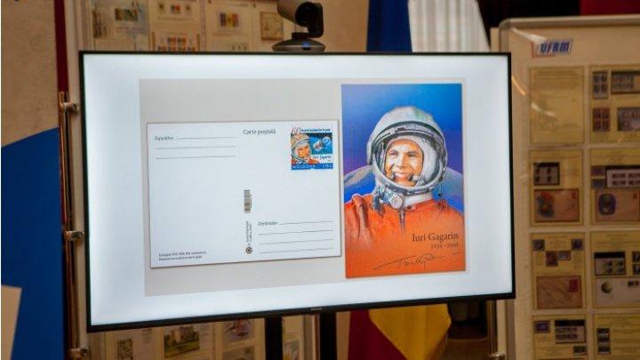 В Молдове выпустили марку и открытку, посвященные 60-летию полёта Гагарина в космос (ФОТО)