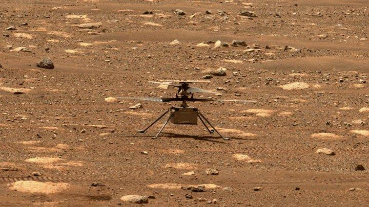 Помешал сбой: первый полёт вертолёта Ingenuity на Марсе пришлось перенести
