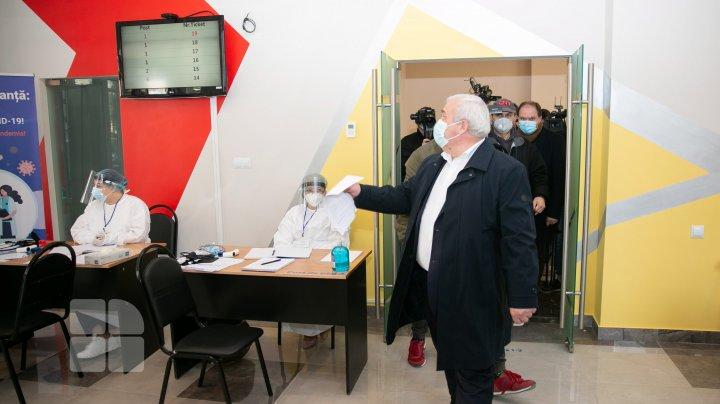 В Кишиневе распахнул двери первый центр вакцинации против коронавируса