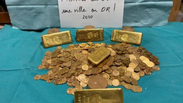 Во Франции нашли клад золота в банках с вареньем