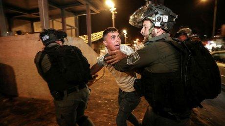 Жёсткие столкновения в Иерусалиме: в результате беспорядков пострадали около 200 палестинцев