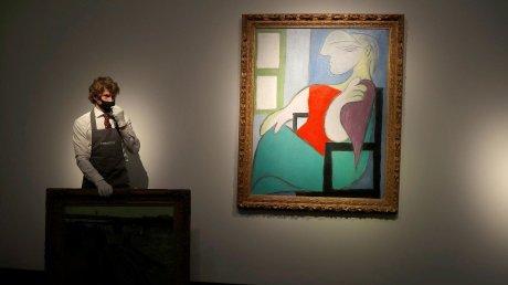 На аукционе в Нью-Йорке за рекордный срок с молотка ушла картина Пабло Пикассо