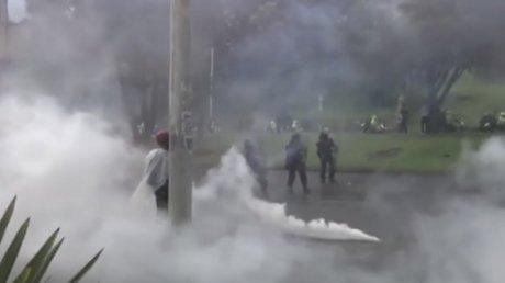Около 550 человек пропали без вести во время протестов в Колумбии