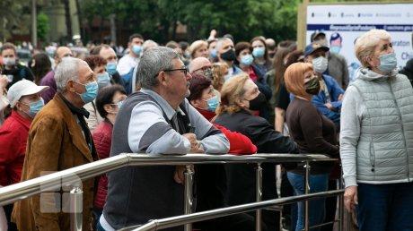 В воскресенье состоится второй этап марафона вакцинации во Дворце Республики