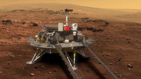 """Новый """"житель"""" Марса: первый китайский марсоход успешно высадился на Красную планету"""