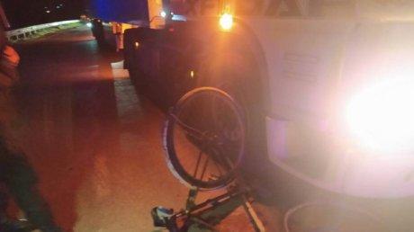 В Хынчештском районе велосипедист пострадал в ДТП с грузовиком