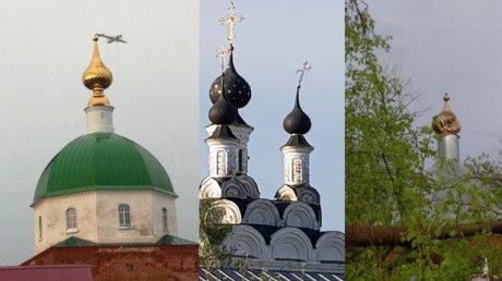 Мощный ураган во Владимирской области погнул кресты на куполах церквей