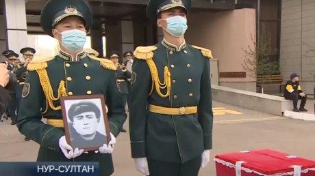 В Казахстане предали земле останки солдата, погибшего во Второй мировой войне в Молдове