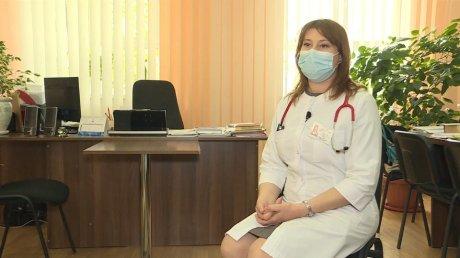 """Новый герой кампании """"11 для Молдовы"""": педиатр из Калараша Ирина Стойка стала врачом в ковид-отделении"""