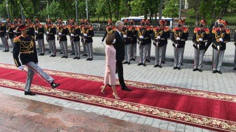 Президент Литвы Гитанас Науседа находится с визитом в Кишинёве