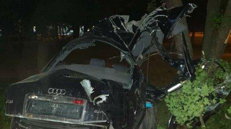Смертельное ДТП в Кишинёве: молодой водитель разбился на скорости 140 км/час