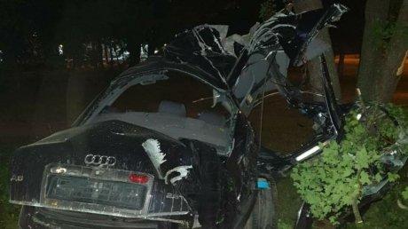Подробности ДТП на Заводской: машина развалилась, водитель получил травмы несовместимые с жизнью