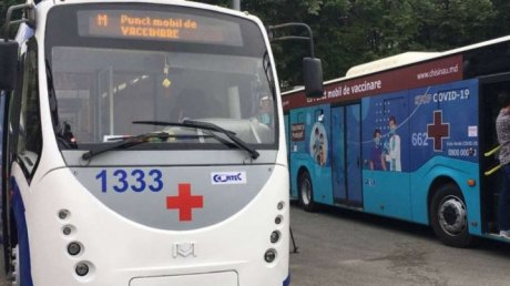 Где найти мобильные пункты вакцинации в Кишинёве в субботу, 24 июля