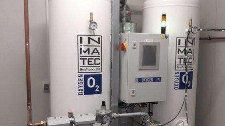 В столичной больнице Святой Троицы установили кислородную станцию для больных COVID-19