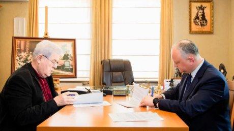 Игорь Додон и Владимир Воронин подписали соглашение о создании избирательного блока ПСРМ-ПКРМ