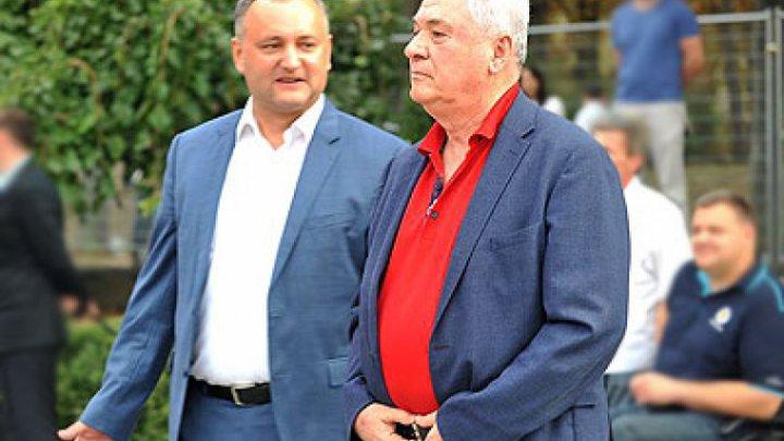 """Додон и Воронин пришли к согласию по поводу создания блока """"Социалисты и коммунисты"""""""