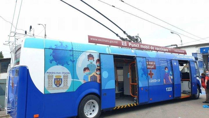 В Кишиневе запустят мобильные пункты вакцинации населения