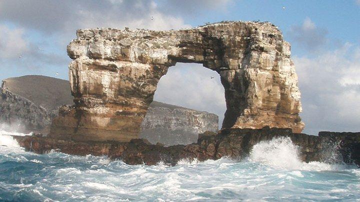 На Галапагосских островах разрушилась знаменитая Арка Дарвина (ФОТО)
