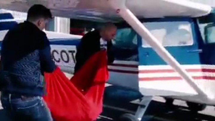 Красивый жест может выйти боком: в чем обвиняют пилота самолета, разбросавшего 9 мая тюльпаны над Вадул-луй-Водэ