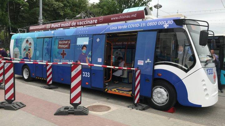 Где найти мобильные пункты вакцинации в Кишинёве в четверг, 29 июля