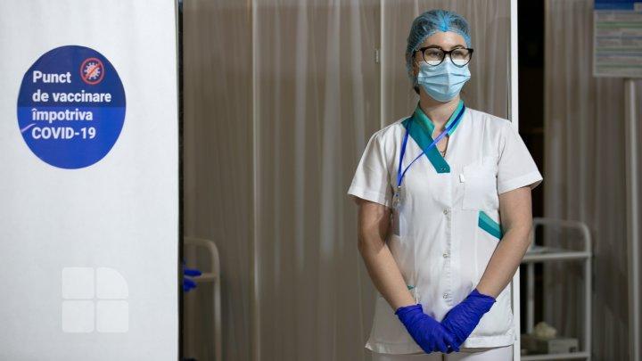В Молдове на 37% выросло число сделанных за неделю прививок от коронавируса