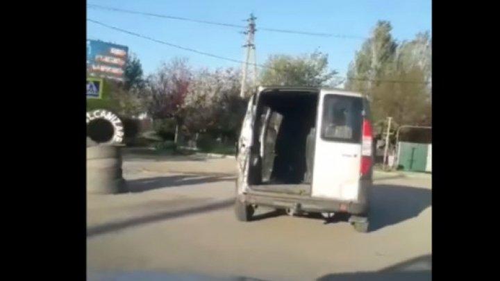 В Бельцах пьяный в стельку водитель петлял по дорогам в неисправной машине