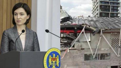 Майя Санду выразила соболезнования семье погибшего в Антверпене молдаванина