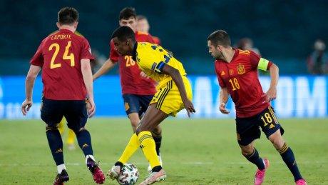 Сборные Испании и Швеции сыграли вничью в матче группы Е чемпионата Европы по футболу