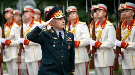 Рота почетного караула Национальной армии отметила 29-летие (ФОТО)