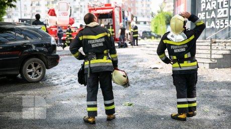 Причины пожара в многоэтажке на столичной улице Чуфля: выдвинуты три версии