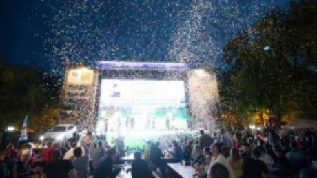 Более 270 посетителей футбольного городка, организованного PRIME, получили денежные призы и подарки